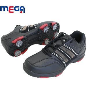 メガ MEGA ソフトスパイク ゴルフシューズ MG-113 alphagolf