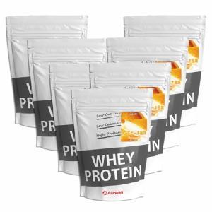 プロテイン ホエイ WPC 1kg チーズケーキ 7個 セット アルプロン アミノ酸 筋トレ 約350食分 タンパク質含有量約71%|alpron