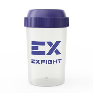 プロテインシェイカー シェイカー EX-SHAKER  300ml  アルプロン ブルー シェイカーボトル シェーカー ブレンダー EXILE EXSUPPLI エクスサプリ alpron