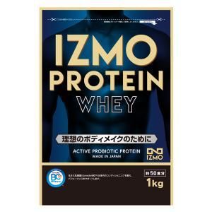 プロテイン ホエイ ホエイプロテイン 1kg 選べるフレーバー 生きた乳酸菌 BC-30配合 チョコ ストロベリー カフェオレ イズモ IZMO|alpron