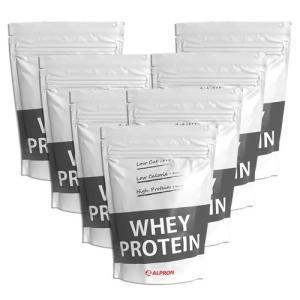 プロテイン ホエイ WPC 1kg プレーン 7個 セット ナチュラル アルプロン 無添加 アミノ酸 筋トレ 約350食分 タンパク質含有量約80%|alpron