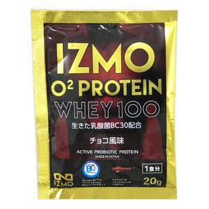 O2 ホエイ プロテイン 20g 約1食分 チョコ風味 アルプロン IZMO イズモ お試し|alpron