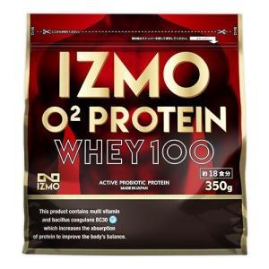 IZMO -イズモ- O2ホエイプロテイン 350g 選べるフレーバー(チョコ風味 ストロベリー風味 カフェオレ風味 バニラ風味)|alpron