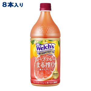 カルピス Welch's ウェルチ ピンクグレープフルーツ100 800g x 8本 送料無料|als-inc