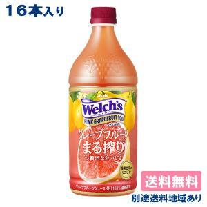 カルピス Welch's ウェルチ ピンクグレープフルーツ100 800g x 8本 x 2ケース 送料無料|als-inc