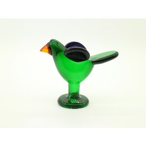 Sieppo Green with leg / Oiva Toikka / Arabia デザイナー...