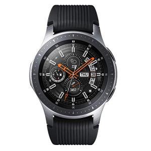 Galaxy Watch 46mm シルバー【Galaxy純正 国内正規品】 Samsung スマー...