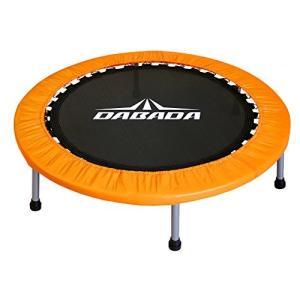 DABADA(ダバダ) トランポリン 大型102cm【耐荷重110kg】 オレンジ