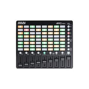 Akai Professional 小型 USB MIDIコントローラー 64クリップ Ableto...