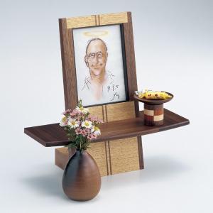 供養壇 ピクシー 幅30cm 高さ29.5cm 天然木 クラフト 職人 日本製 写真立て オープンタイプ モダン仏壇 ペット仏壇 手元供養 送料無料 ALTAR セール|altar