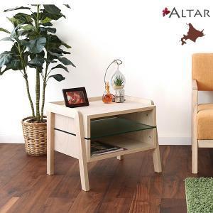 ローボックス Nordlys ノールリス W55 H43.5 天然木 オイル仕上 ラック 木製 北欧 家具 北海道生産 セール 送料無料 ALTAR アルタ|altar