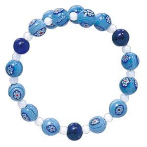 数珠 ブレスレット LV-1018 女性用 念珠 片手念珠 ベネチアンガラス ヴェネツィアン パワーストーン ALTAR アルタ|altar