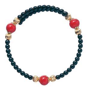 数珠 ブレスレット LV-1001 女性用 念珠 片手念珠 ベネチアンガラス ヴェネツィアン パワーストーン ALTAR アルタ|altar