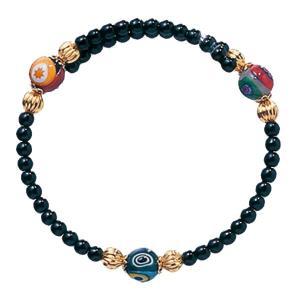 数珠 ブレスレット LV-1002 女性用 念珠 片手念珠 ベネチアンガラス ヴェネツィアン パワーストーン ALTAR アルタ|altar