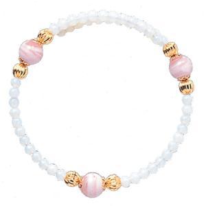 数珠 ブレスレット LV-1003 女性用 念珠 片手念珠 ベネチアンガラス ヴェネツィアン パワーストーン ALTAR アルタ|altar