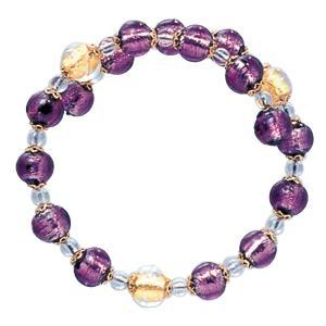 数珠 ブレスレット LV-1005 女性用 念珠 片手念珠 ベネチアンガラス ヴェネツィアン パワーストーン ALTAR アルタ|altar