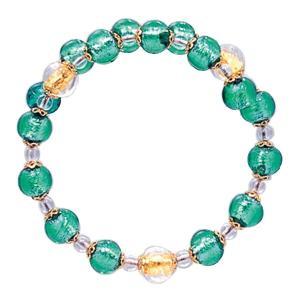 数珠 ブレスレット LV-1006 女性用 念珠 片手念珠 ベネチアンガラス ヴェネツィアン パワーストーン ALTAR アルタ|altar