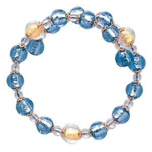 数珠 ブレスレット LV-1007 女性用 念珠 片手念珠 ベネチアンガラス ヴェネツィアン パワーストーン ALTAR アルタ|altar