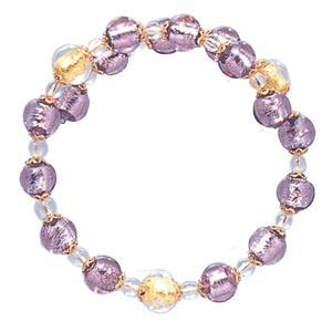 数珠 ブレスレット LV-1008 女性用 念珠 片手念珠 ベネチアンガラス ヴェネツィアン パワーストーン ALTAR アルタ|altar