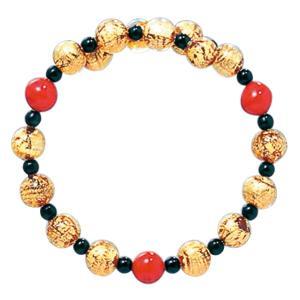 数珠 ブレスレット LV-1009 女性用 念珠 片手念珠 ベネチアンガラス ヴェネツィアン パワーストーン ALTAR アルタ|altar