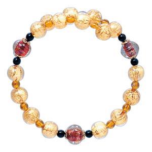 数珠 ブレスレット LV-1011 女性用 念珠 片手念珠 ベネチアンガラス ヴェネツィアン パワーストーン ALTAR アルタ|altar