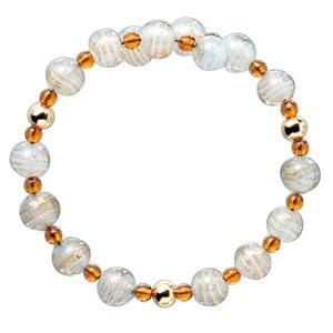 数珠 ブレスレット LV-1013 女性用 念珠 片手念珠 ベネチアンガラス ヴェネツィアン パワーストーン ALTAR アルタ|altar
