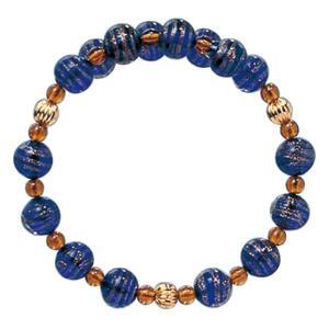 数珠 ブレスレット LV-1015 女性用 念珠 片手念珠 ベネチアンガラス ヴェネツィアン パワーストーン ALTAR アルタ|altar