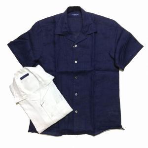 TOMORROWLAND トゥモローランド メンズ オープンカラー ショートスリーブシャツ|altasotto