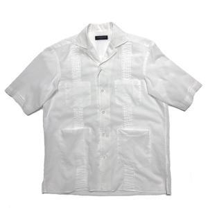 TOMORROWLAND トゥモローランド メンズ インドコットン キューバシャツ|altasotto