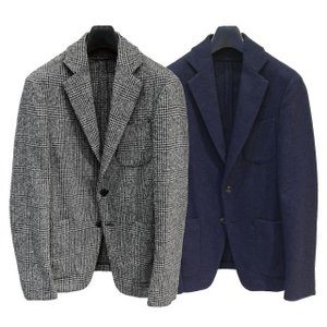 TOMORROWLAND トゥモローランド メンズ リングツイード 2Bジャケット|altasotto