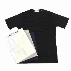 TOMORROWLAND トゥモローランド メンズ ギザコットン VネックTシャツ|altasotto