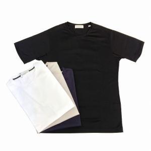 TOMORROWLAND トゥモローランド メンズ ギザコットン クルーネックTシャツ|altasotto