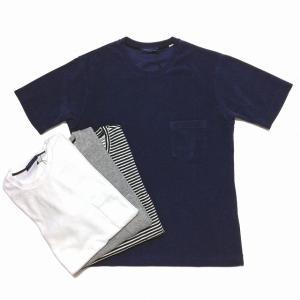 TOMORROWLAND トゥモローランド メンズ クルーネック パイルTシャツ|altasotto