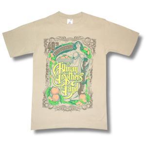 オールマン・ブラザーズ40周年記念Tシャツ/ロックTシャツ/バンドTシャツ|alternativeclothing