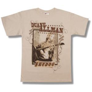 DUANE ALLMAN/ALLMAN BROTHERS/SKY DOG/ロックTシャツ/バンドTシャツ|alternativeclothing