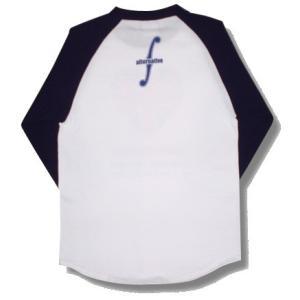 ハートのユニオンジャック/UKハートトリム/ラグラン/七分袖/ベースボールTシャツ/メンズ/レディース|alternativeclothing|02