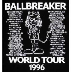 AC/DC/Ball Breaker/ワールドツアー'96/ボールブレイカー/Tシャツ/黒/ロックTシャツ/バンドT シャツ|alternativeclothing|03