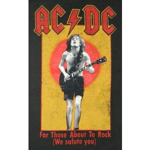 AC/DC/アンガス・ヤング/FOR THOSE ABOUT TO ROCK/ロックTシャツ/バンドTシャツ alternativeclothing 02