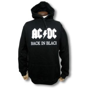 AC/DC/バック・イン・ブラック/メンズ/パーカー/黒|alternativeclothing