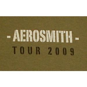 エアロ・スミス/ツアー2009/Tシャツ/AERO SMITH/カーキ/ロックT/バンドT|alternativeclothing|04