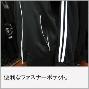 ドクロ・ジャージ/スカル/クロスボーン/メンズ/レディース/NOTHING STAKE NOTHING DRAW|alternativeclothing|05