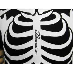 Tシャツ スケルトン ガイコツ ドクロ スカル 長袖 メンズ レディース ロンT|alternativeclothing|04