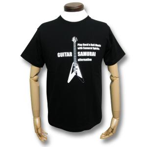 フライングV/Tシャツ/マイケル・シェンカー/MICHAEL SCHENKER/黒/メンズ/レディース/ロックTシャツ|alternativeclothing