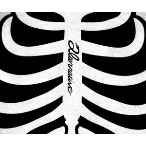 ホネ骨/スケルトン/ガイコツ/スカル/ドクロ/Tシャツ/メンズ/レディース|alternativeclothing|03