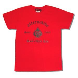 ★スペードTシャツ(赤)|alternativeclothing