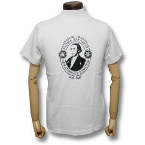 坂本龍馬/TシャツPART2/白/メンズ/レディース/プレゼント/ギフト包装/ラッピング無料|alternativeclothing