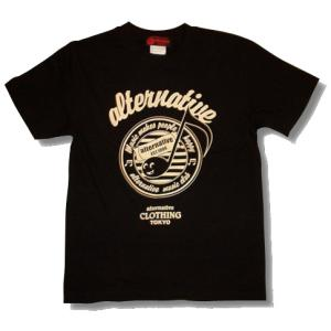 音符Tシャツ/黒/ブラック/メンズ/レディース/プレゼント/ギフト包装/ラッピング無料|alternativeclothing