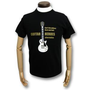 白のレスポール/ギターTシャツ/Les Paul/メンズ/レディース/GINSON/ギブソン|alternativeclothing