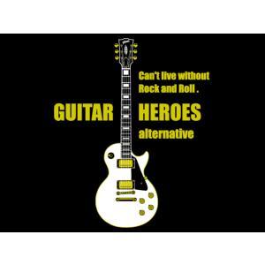 白のレスポール/ギターTシャツ/Les Paul/メンズ/レディース|alternativeclothing|05