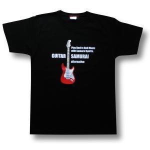 ストラト/ギター侍Tシャツ/メンズ/レディース|alternativeclothing|04